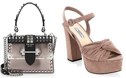 Prada Handbag and Shoes