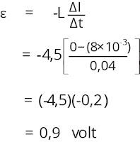 Jawaban soal fisika tentang induksi elektromagnetik nomor 6