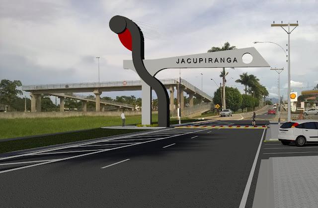 JACUPIRANGA TERÁ PORTAL NA ENTRADA DA CIDADE