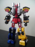 Super Robot Chogokin Daizyujin Megazord 04