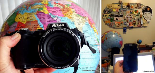 Câmeras fotográficas para viagem