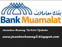 Jawatan Kosong Bank Muamalat Malaysia Bhd 06 MEI 2018