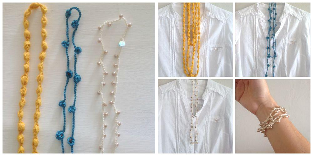 Collajes tejidos en crochet | Bizcochos y Sancochos.