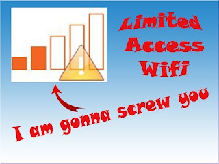 cara mengatasi wifi limited access windows 8 dan 7