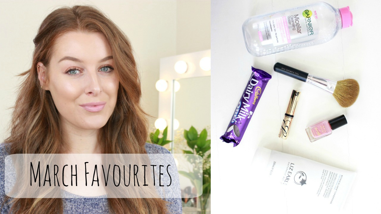 March Beauty Favourites YouTube