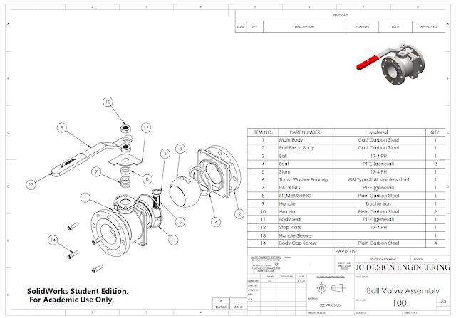 Jc Design Engineering Floating Ball Valve