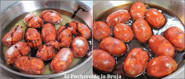 Choricitos En Almíbar
