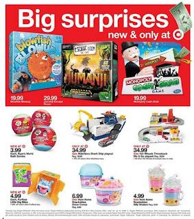 Target Sneak Peek ad 12/2/2018