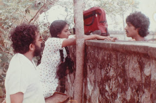 Malayalam actress Rohini with director
