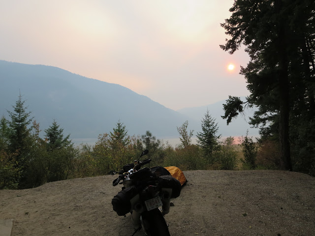Syringa Provincial Park Campsite