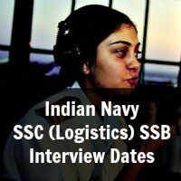 Indian Navy SSC (Logistics) SSB Interview Dates June 2014