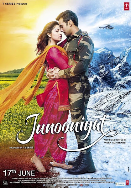 Poster Of Junooniyat 2016 720p Hindi DVDRip Full Movie Download