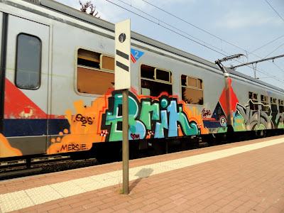 Brik graffiti
