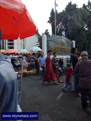 wisata kota jakarta masjid istiqlal