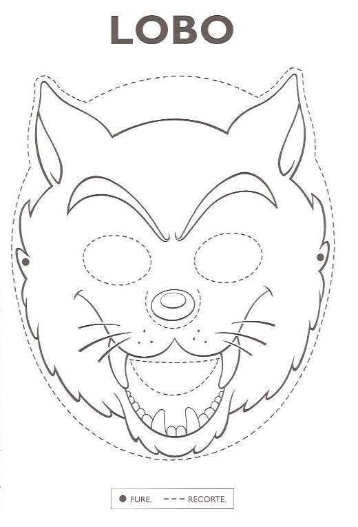 Baú da Web: Máscara do Folclore para imprimir
