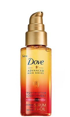 review:  dove regenerative nourishment serum-in-oil.