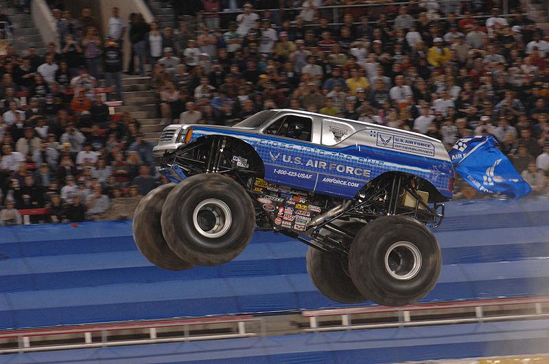 Monster Truck Physics