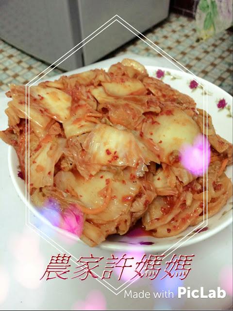 濃厚醬汁的韓國泡菜