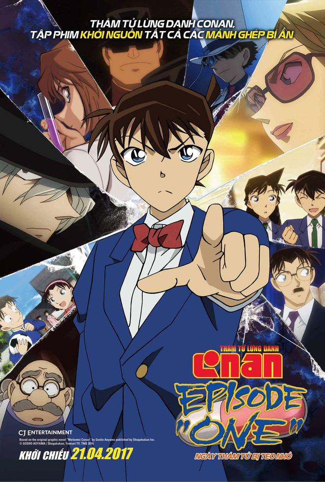 Xem Phim Thám Tử Lừng Danh Conan: Ngày Thám Tử Bị Teo Nhỏ 2017