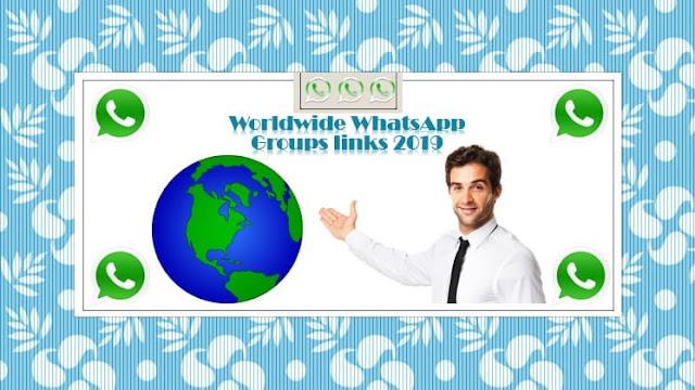 Worldwide Whatsapp Group Links in 2020