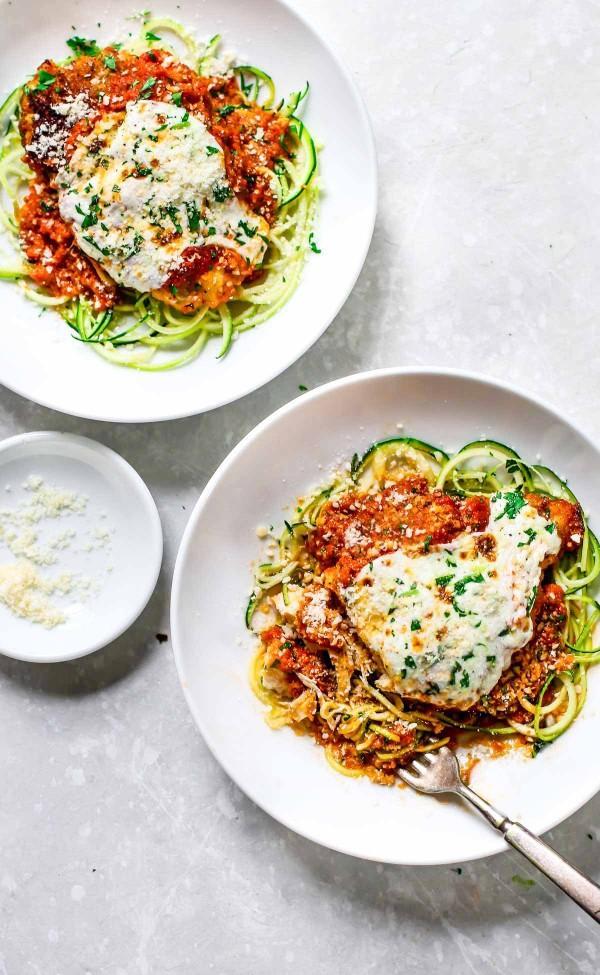 healthy #chicken parmesan