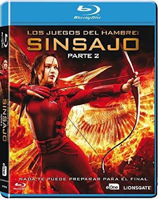Juegos del Hambre: Sinsajo - Parte 2 (2015) DVDRip Español Latino