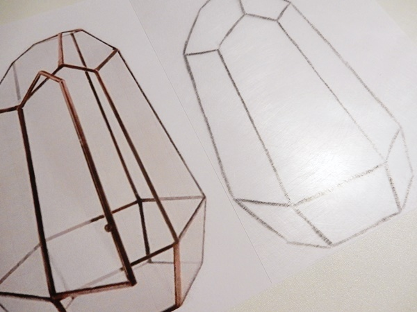 DIY : Pendentif terrarium en plastique fou