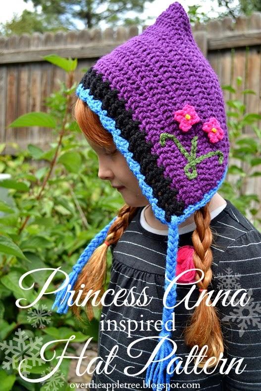 Over The Apple Tree Princess Anna Crochet Hat