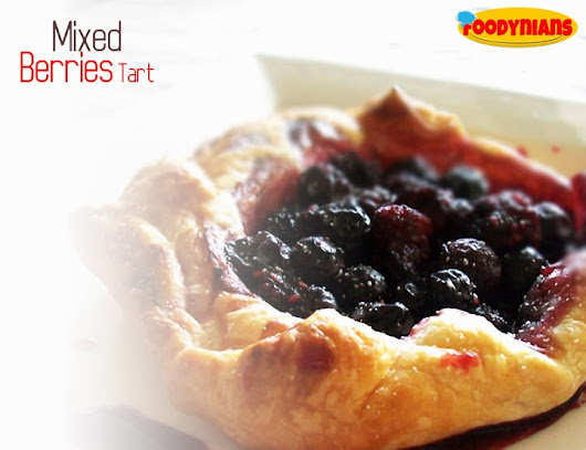 Mixed Berries Tart