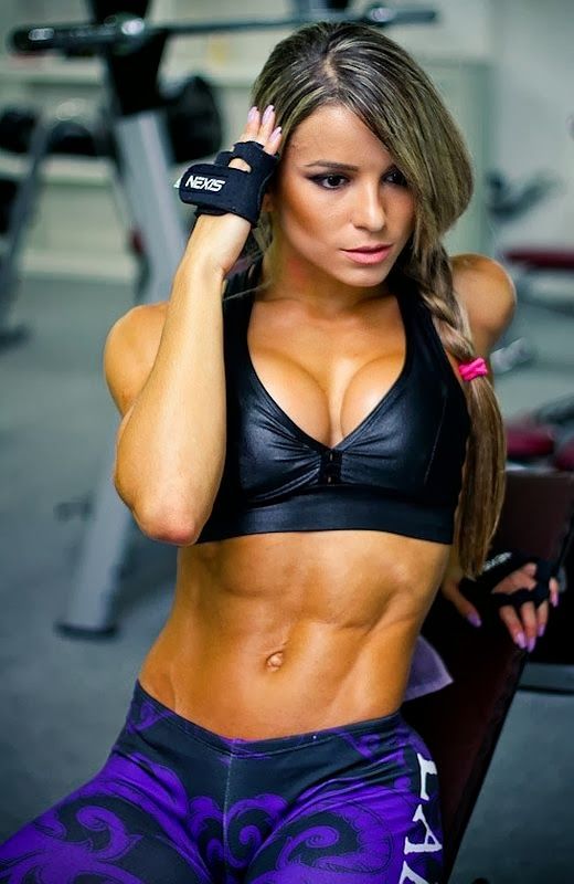 Brazilian bodybuilder woman