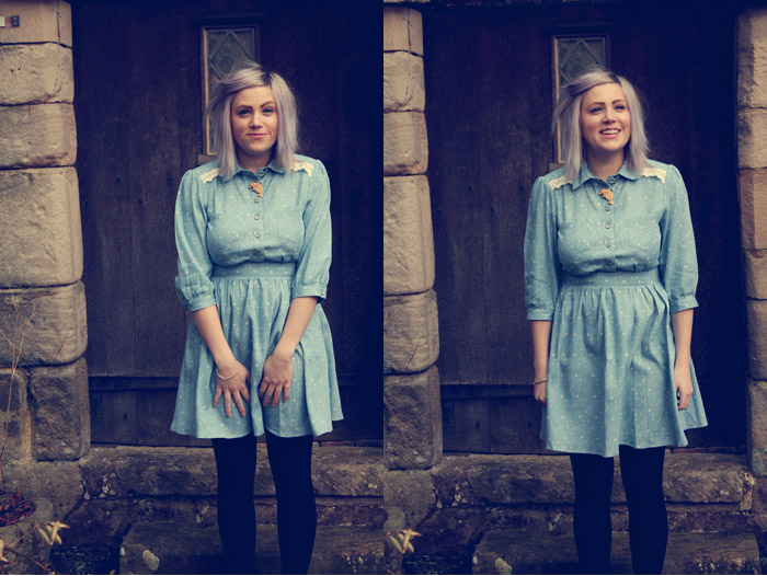 cosmic shirt dress outfit post