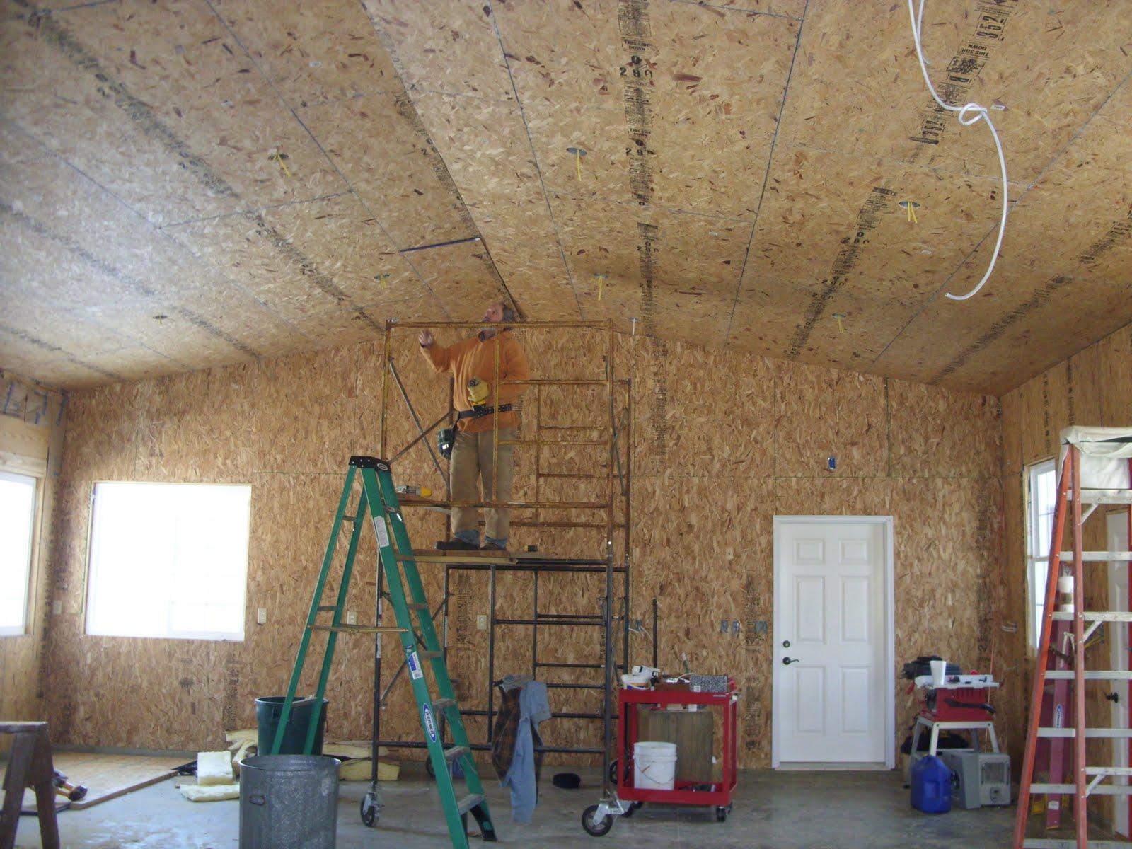 Painting Garage Ceiling