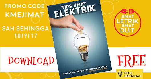 Ebook PERCUMA TIPS JIMAT ELEKTRIK