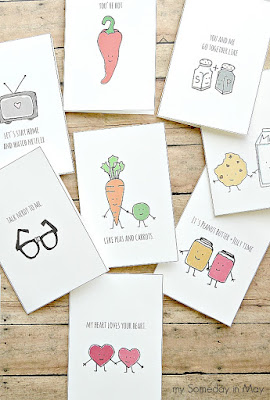 Cute quirky love cards