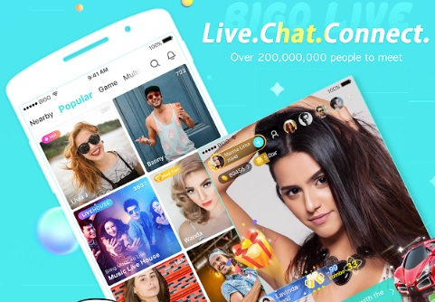 BIGO LIVE App: One Of The Most Popular Live Video Streaming Social Networks