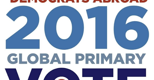 Democrats Abroad Primary: Bernie is Crushing Hillary [69% vs. 31%]