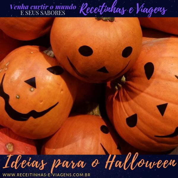 ideias de decoracao para o Halloween