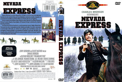Cover, dvd, carátula:  Nevada Express | 1975 | Breakheart Pass