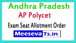 AP Polycet Exam Seat Allotment Order Released Download