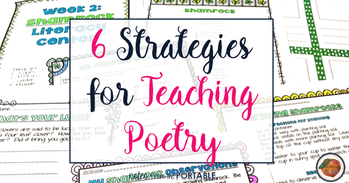 The Primary Peach 6 Strategies For Teaching Poetry