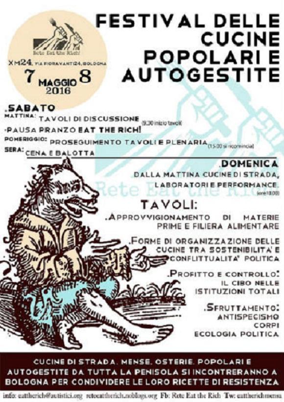 Italia festival de la cocina popular y autogestionaria 7 for La cocina popular