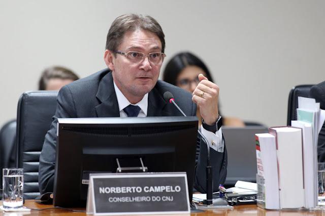 Conselheiro do CNJ, Norberto Campelo