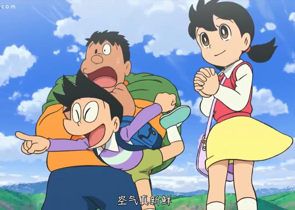 nobita trở về nước nhật thời nguyên thuỷ