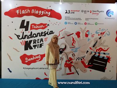 Acara flash blogging untuk Indonesia kreatif
