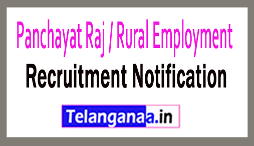 Panchayat Raj / Rural Employment PRRE Recruitment