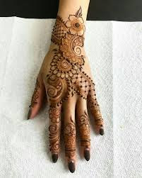 back hand mehndi designs