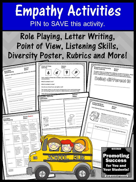 printable empathy activities and games for kids