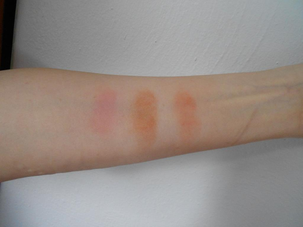Burt's Bees Mineral Blush Line Swatches