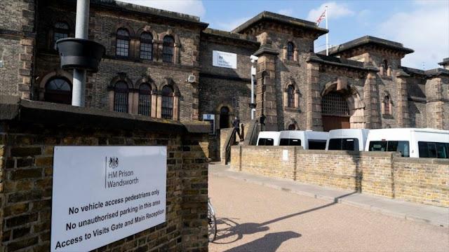 """Trasladan al fundador de Wikileaks a """"la Guantánamo británica"""""""