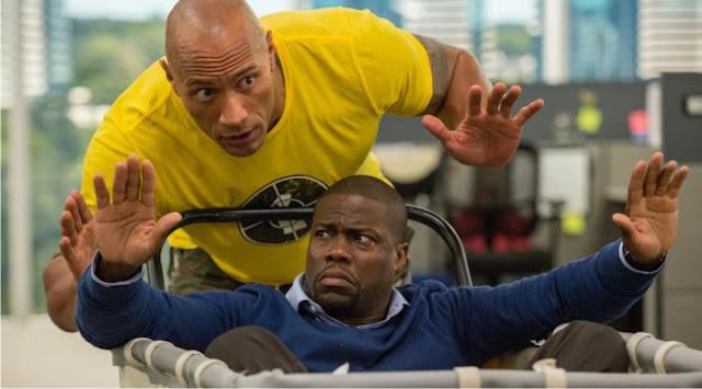 """Dwayne Johnson e Kevin Hart entram em apuros no trailer inédito da comédia de ação """"Um Espião e Meio"""""""